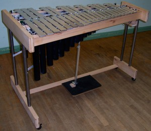 Neil's Home built vibraphone