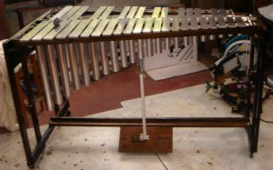 DIY vibraphone from Chris